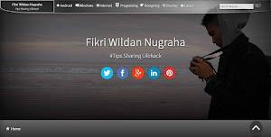 Cover FanPage Fikri Wildan Nugraha Page