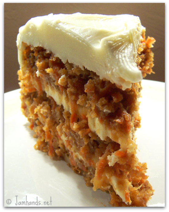 Pineapple And Carrot Cake With Brown Butter Frosting