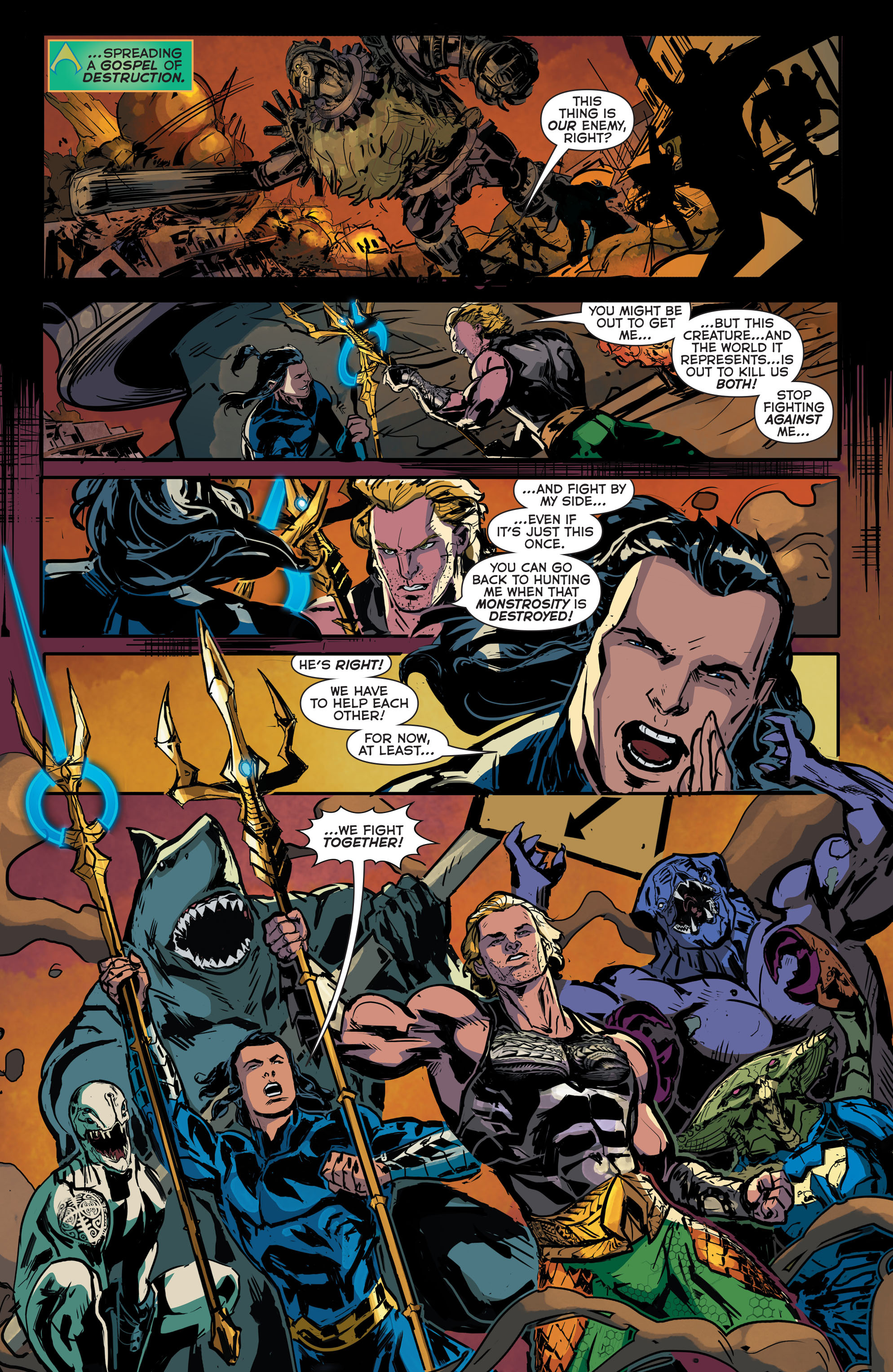 Read online Aquaman (2011) comic -  Issue #43 - 8