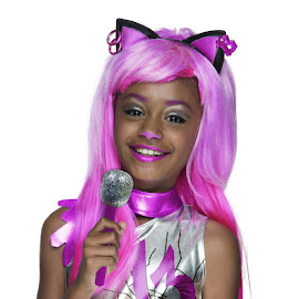Monster High Rubie's Catty Noir Wig Child Costume