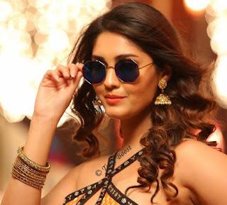 Tollywood Actress Surbhi Beautiful Earring Face Closeup Pictures (7)