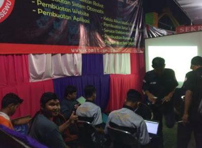 Serunya Ikut Pelatihan Website Gratis Bareng Komunitas IT di Pringsewu Expo
