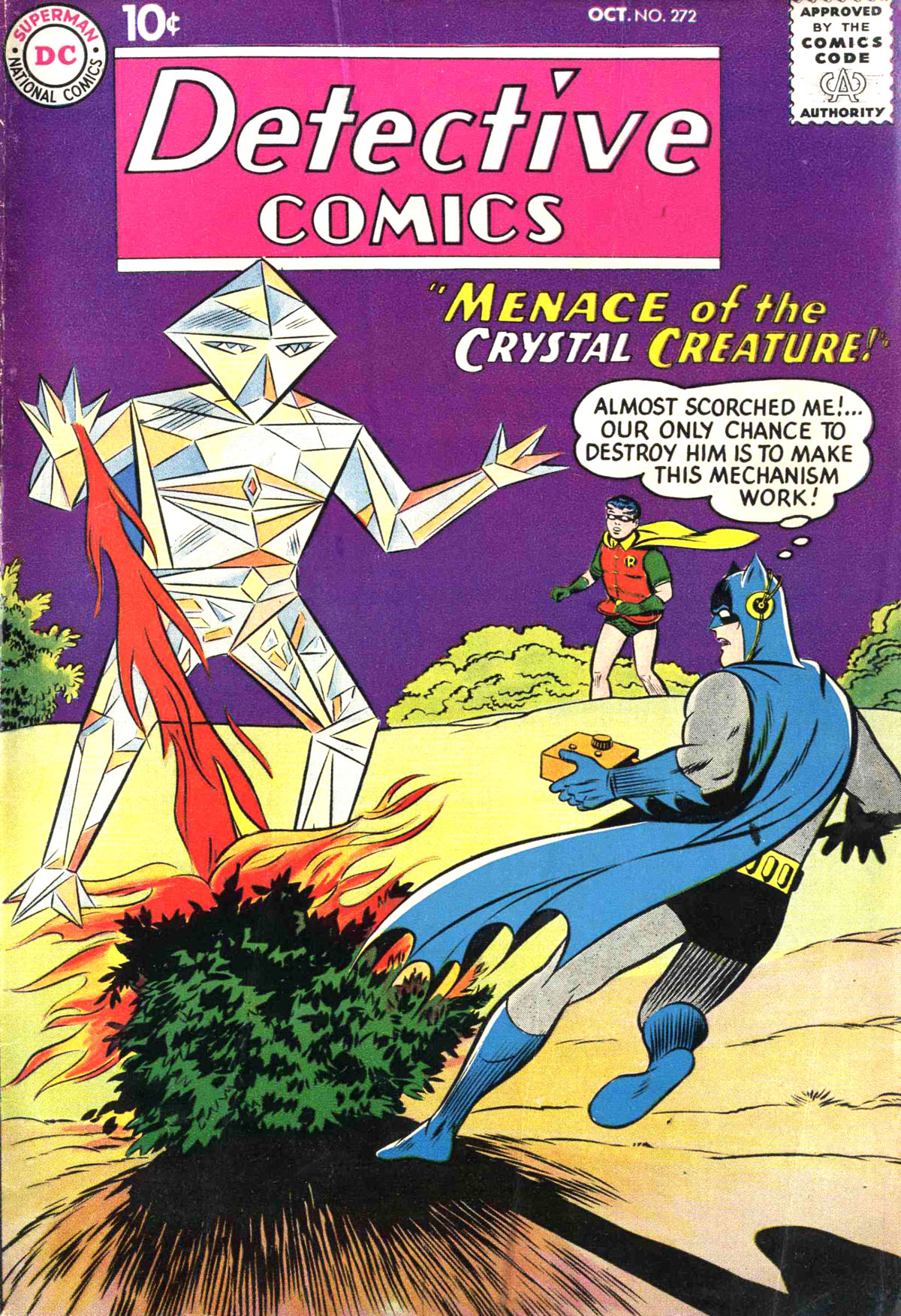 Read online Detective Comics (1937) comic -  Issue #272 - 1