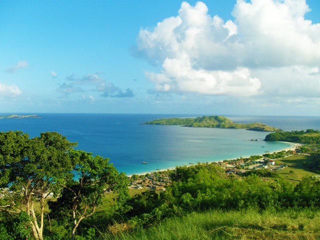 Calaguas Island hill top view