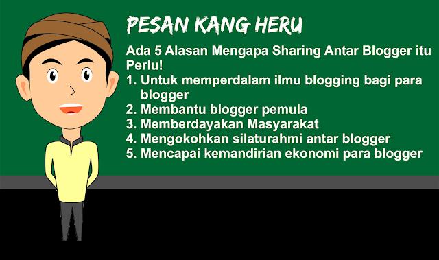 Sharing Antar Blogger