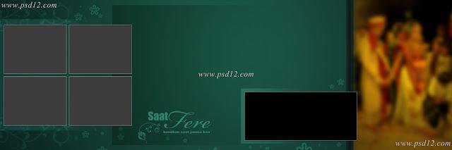 Evergreen 12x36 Album PSD Vol-5 | PSD12 | Wedding Photo album design
