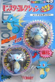 Horsea Pokemon figure Tomy Monster Collection series