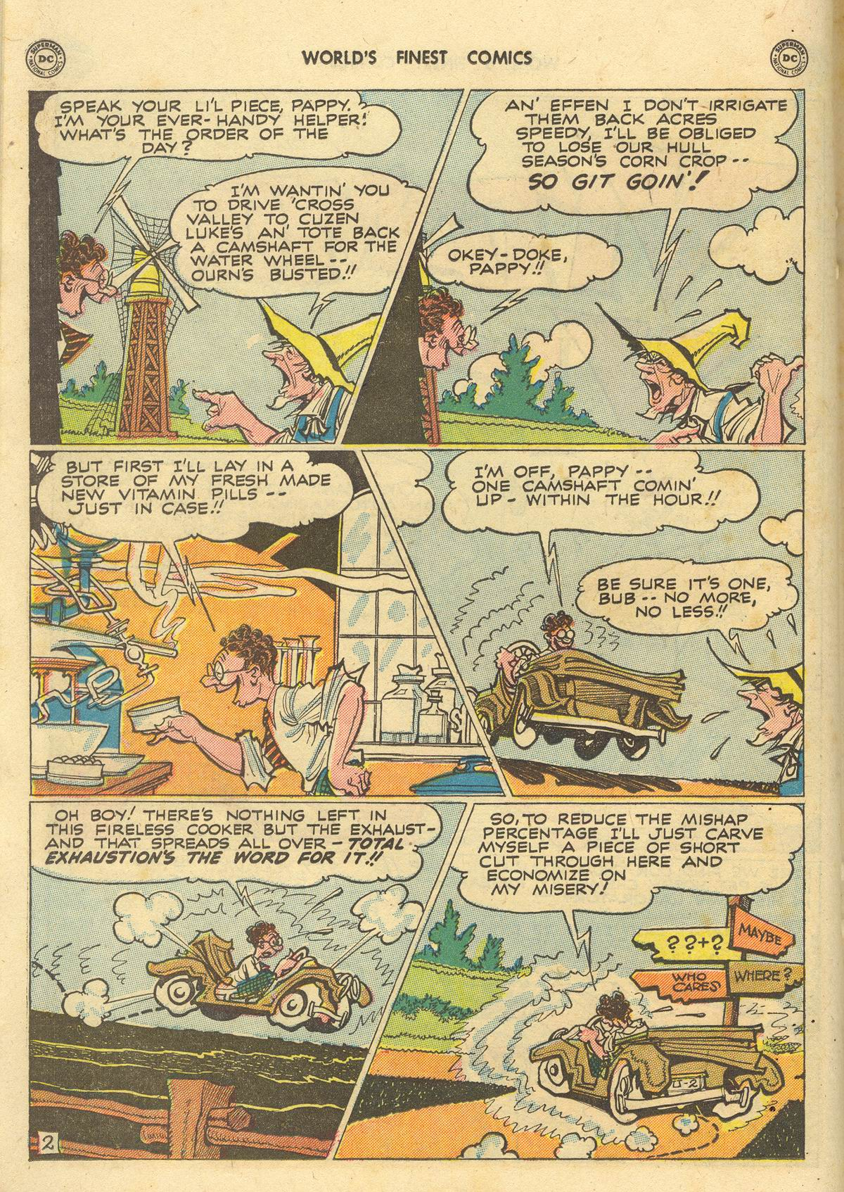 Read online World's Finest Comics comic -  Issue #51 - 38