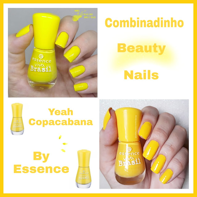 Combinadinho Beauty Nails 4 Yeah Copacabana Essence Nailpolish
