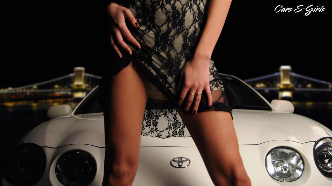 Toyota Celica T200, seksowne panny i samochody