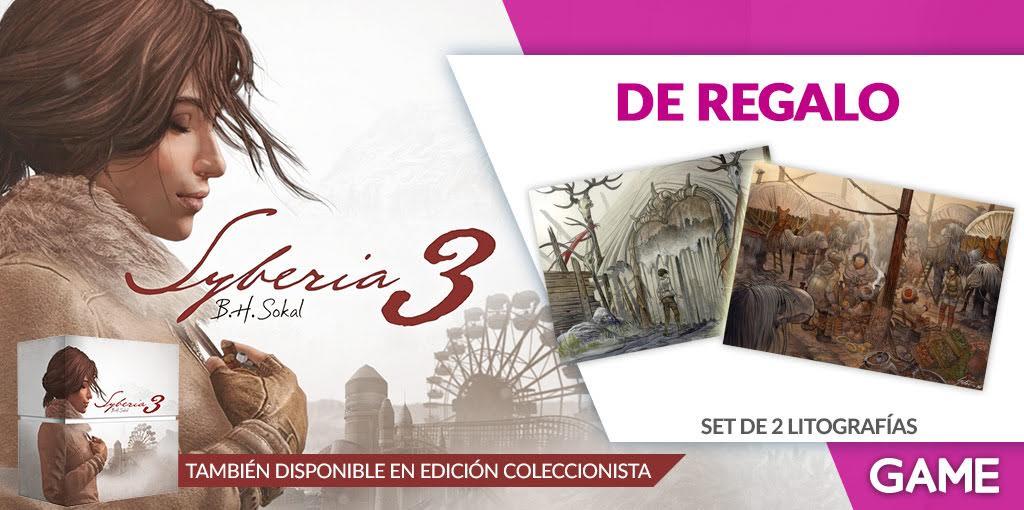 Syberia 3 contará con edición coleccionista exclusiva de GAME