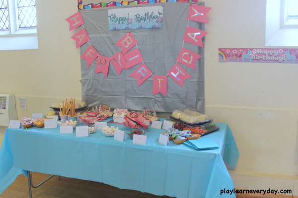 Ivys Mermaid And Unicorn Fourth Birthday Party