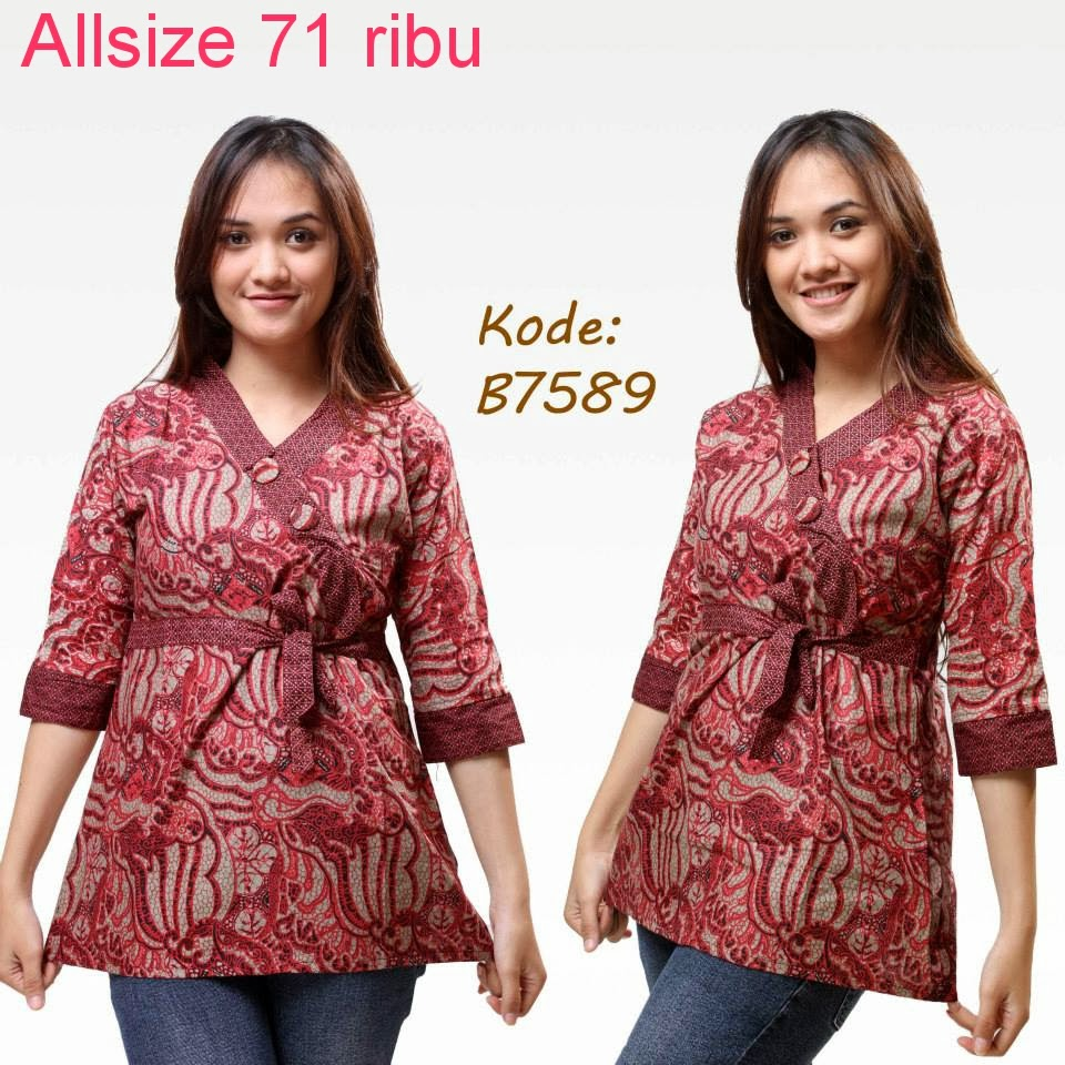 Model Baju Batik Semi Formal: Aneka Model Baju Batik