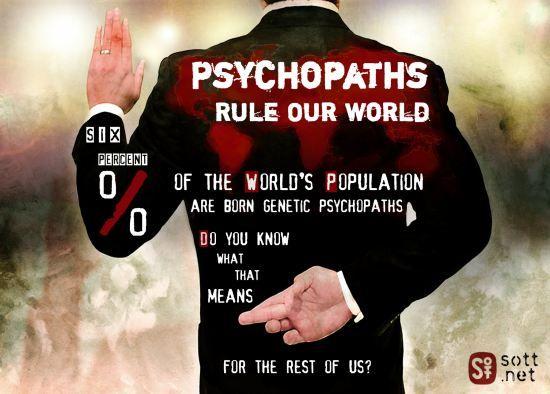 30 známek, že chodíš s psychopatem
