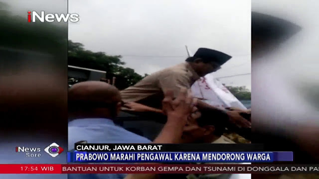 Insiden Prabowo Marah: Memang Beda Kelas dengan Joko