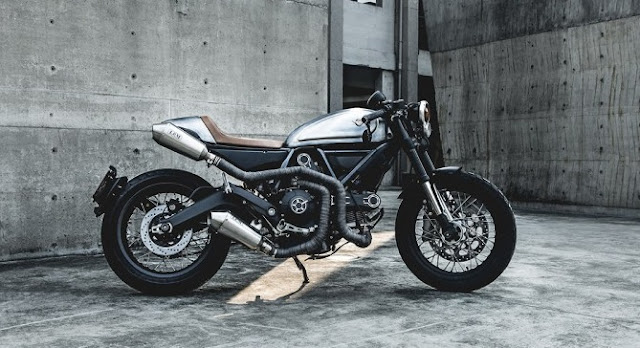 Ducati Scrambler By Impossible Project Motors Hell Kustom