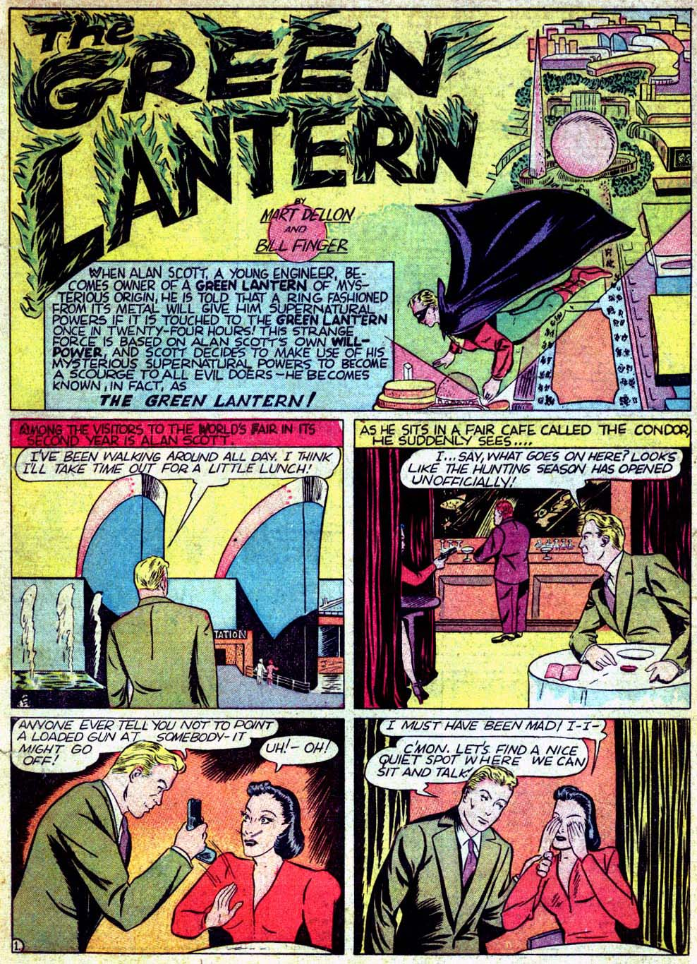 Read online All-American Comics (1939) comic -  Issue #18 - 3