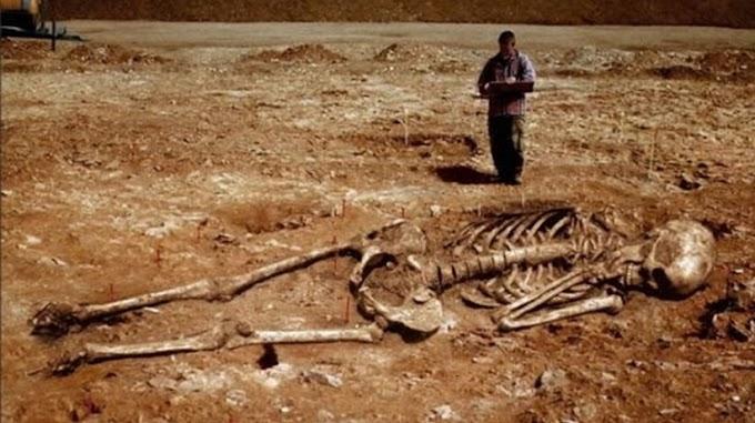 Откриха поредния скелет на великан! Учените в шок!