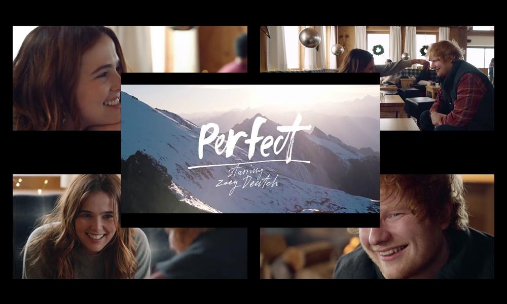 Perfect di Ed Sheeran  uscito il videoclip ufficiale con l attrice Zoey  Deutch fe526392edba