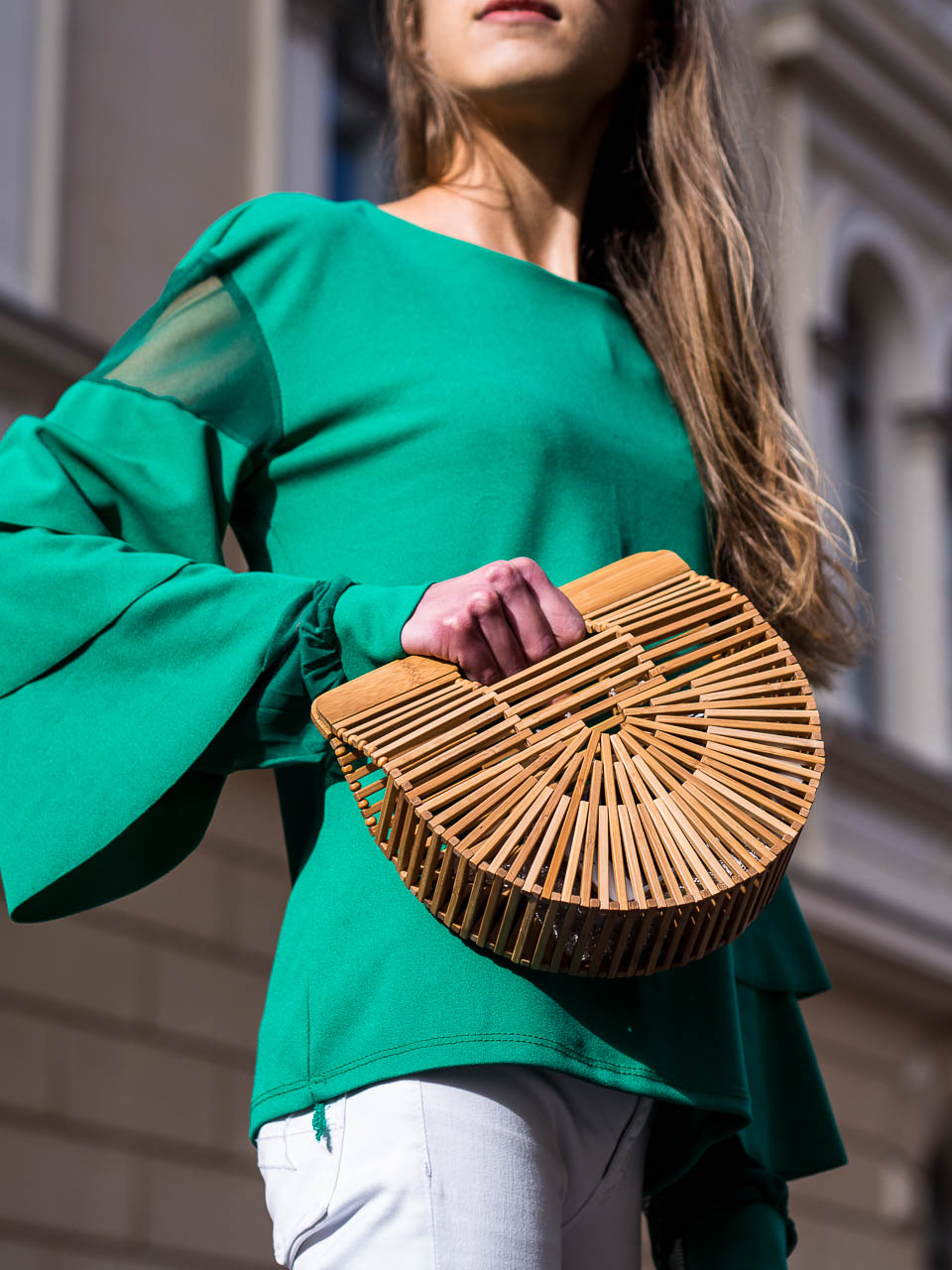 emerald-green-ruffle-top-cult-gaia-ark-bag