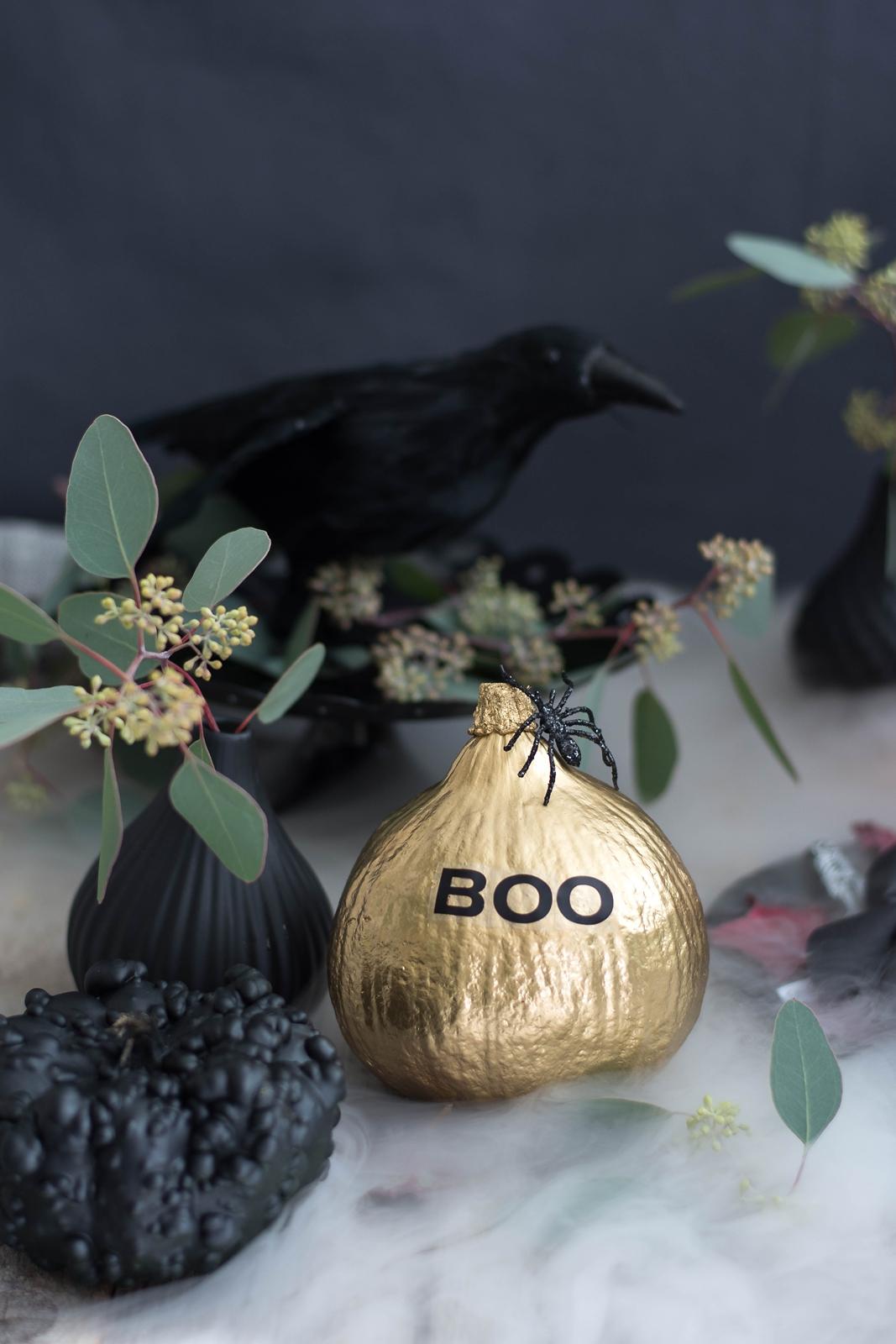 Halloween DIY Tischdeko Ideen