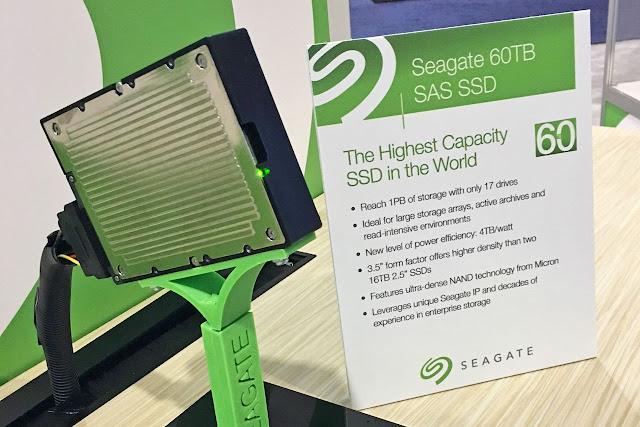 Seagate Rilis SSD Berkapasitas 60TB