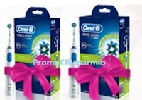 Logo Desideri Magazine: vinci gratis spazzolino Oral-B PRO 600