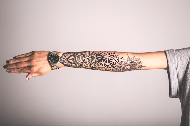 Awesome Forearm Mandala Tattoo