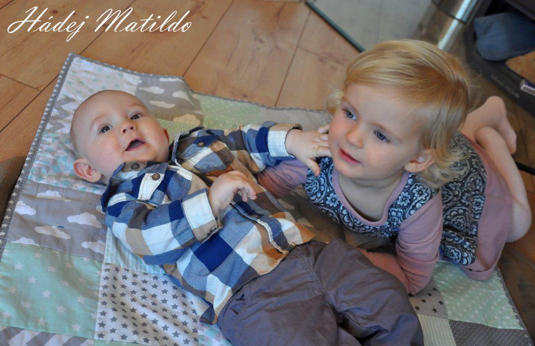 spánek dětí, nespavci, miminko, půl roku