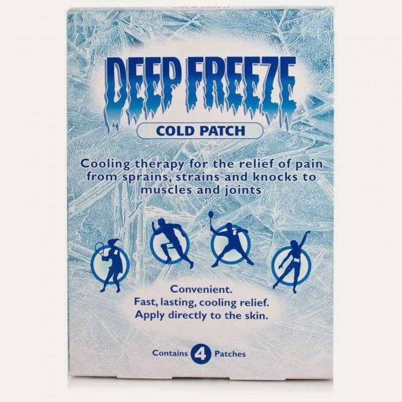 ice patches pain relief