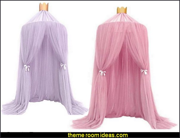 Round Crib Curtain Dome Bed Canopy Netting Princess Mosquito Net   Bed canopy -  Bed Canopies - Bed Crown - Mosquito Netting - Bed Tents - Canopy Beds - Post Bed Canopies - Luxury Canopy netting   - girls bed canopy - Bed Curtains - Curtain Canopy