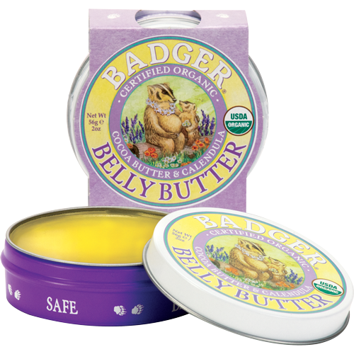 badger organic pregnant belly butter review