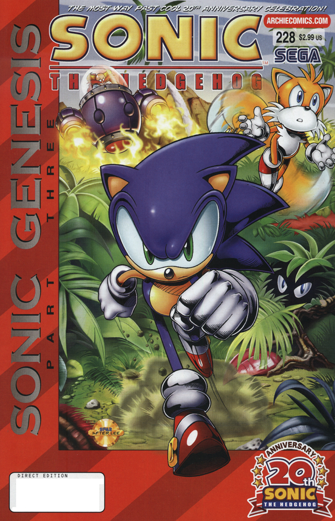 Read online Sonic The Hedgehog comic -  Issue #228 - 1