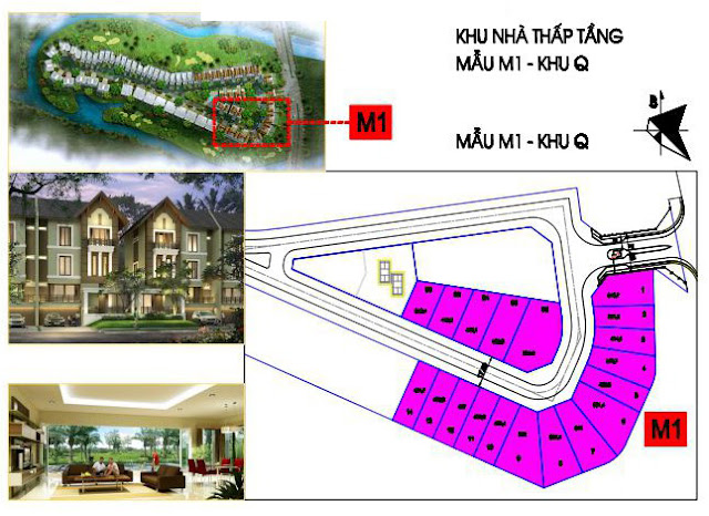 Khu biệt thự đô thị Ciputra Nam Thăng Long phát triển giai đoạn 3