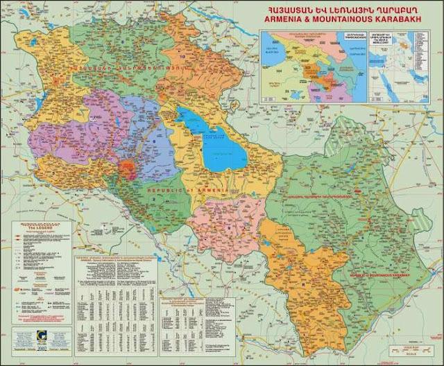 La mitad de los armenios quiere la reunificación con Artsaj