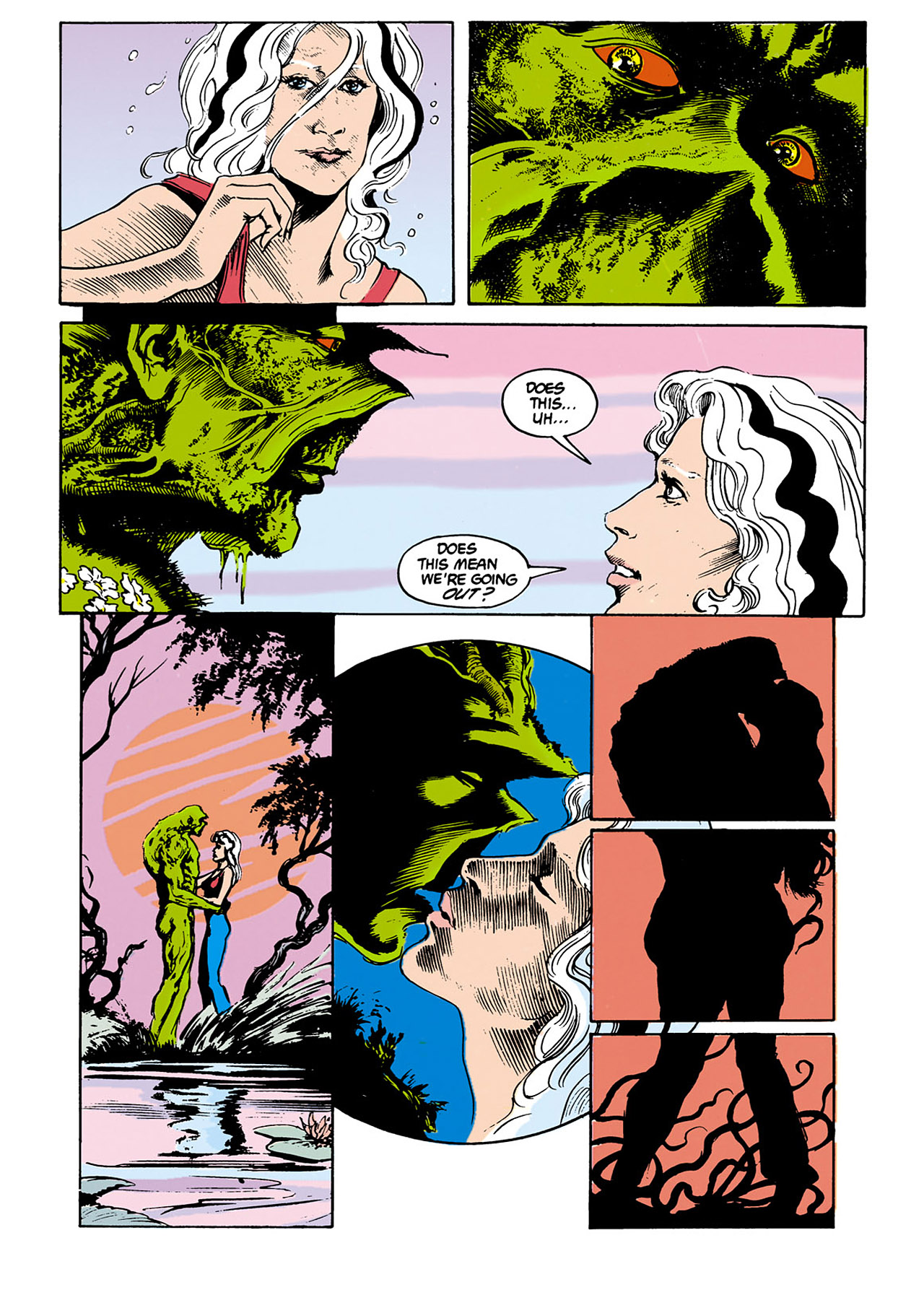 Swamp Thing (1982) Issue #34 #42 - English 18
