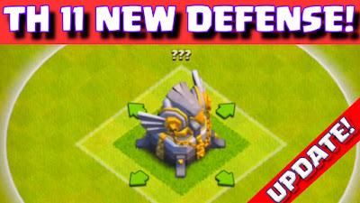 Town Hall 11 New Defense