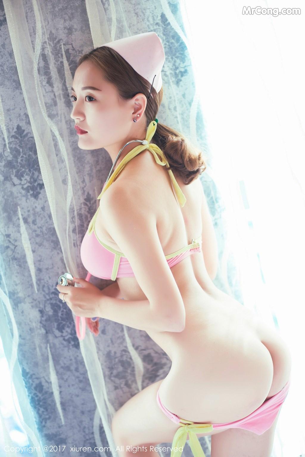 Image XIUREN-No.848-TEL-MrCong.com-046 in post XIUREN No.848: Người mẫu 外科TEL (49 ảnh)