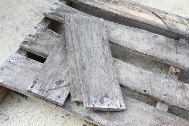 cut pallet boards