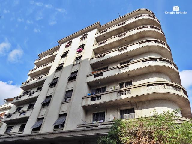 Perspectiva inferior do Edifício São Vito - Brás - São Paulo
