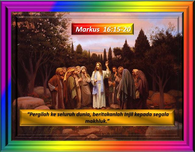 Markus 16:15-20