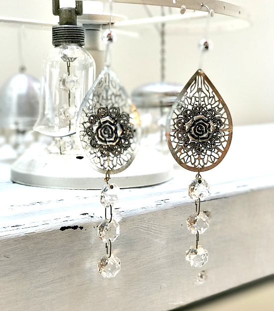 Earring Christmas tree ornaments