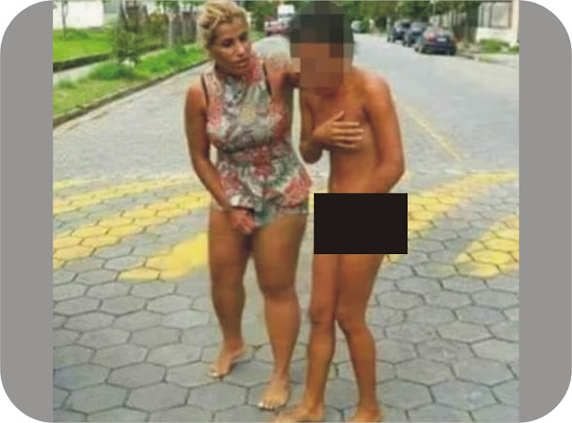 Wife strip woman who slept with her hubby