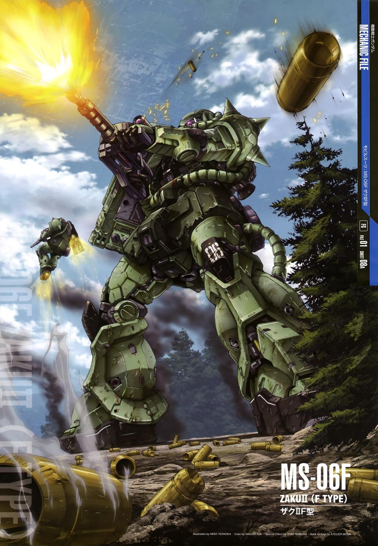 Gundam Mechanic File Posters