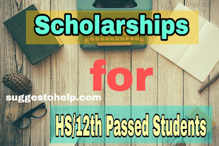 HS 2019 Scholarships in West Bengal : Scholarship After HS 2019