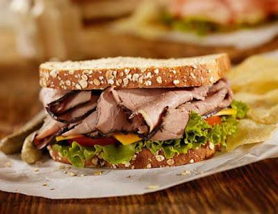 Roast Beef Sandwich: Super Simple Lunch