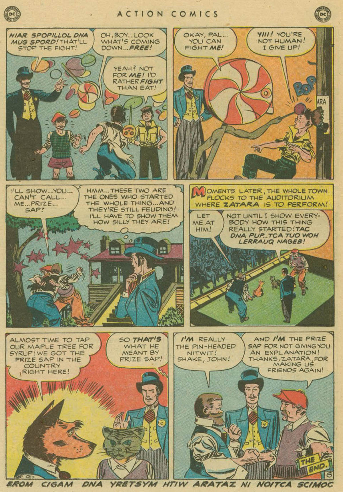 Read online Action Comics (1938) comic -  Issue #141 - 37
