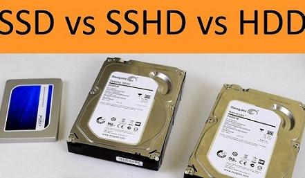 تعريف الاقراص الصلبة HDD او SSHD او SSD و ايهما افضل