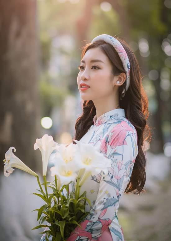 Đỗ Mỹ Linh làm nàng thơ của Ngọc Hân trong bộ sưu tập áo dài - Ảnh 5