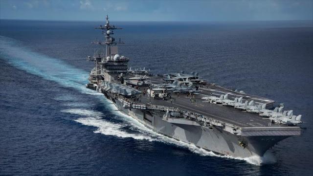 EEUU va por detrás de Rusia y China en potencia naval